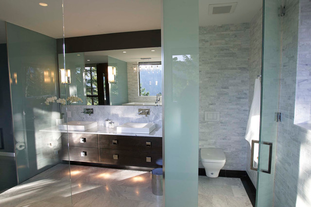Master ensuite contemporary bathroom vancouver by for Modern small ensuite