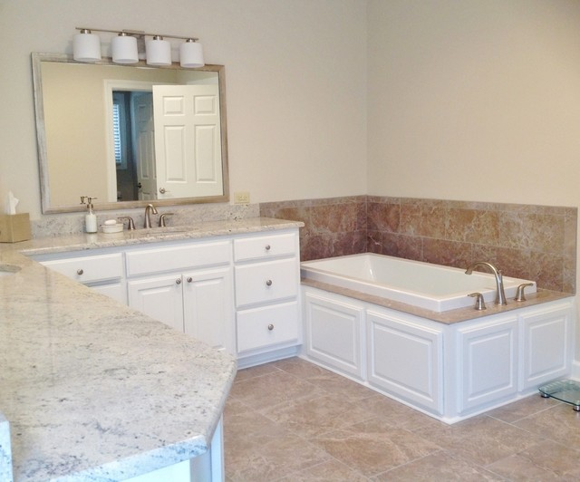 Master Remodel Mauve to Neutral  Transitional  Bathroom  other