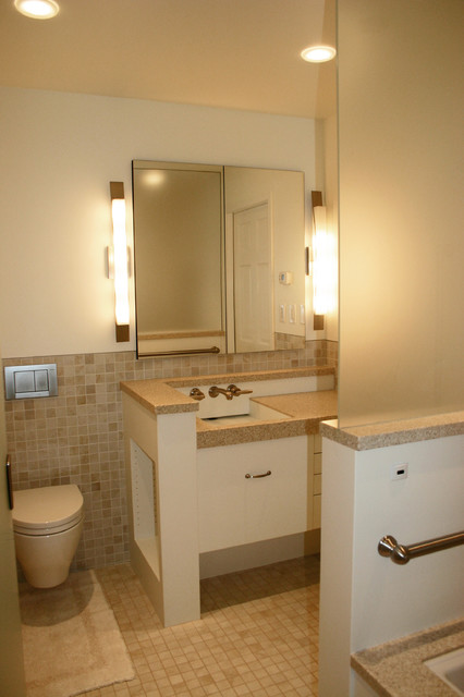 Master Renovation modern-bathroom