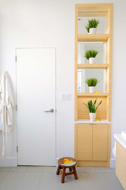 Master Retreat Ensuite contemporary-bathroom