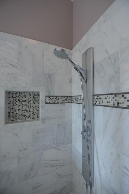 Master Shower (After) traditional-bathroom