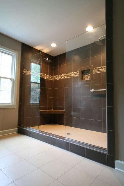Master Shower Modern Bathroom Charleston By