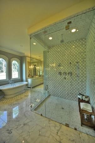 Master Shower traditional-bathroom