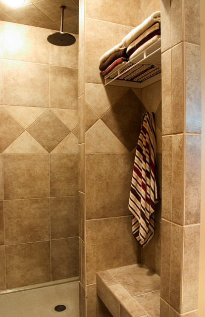 Master Shower Traditional Bathroom Other By