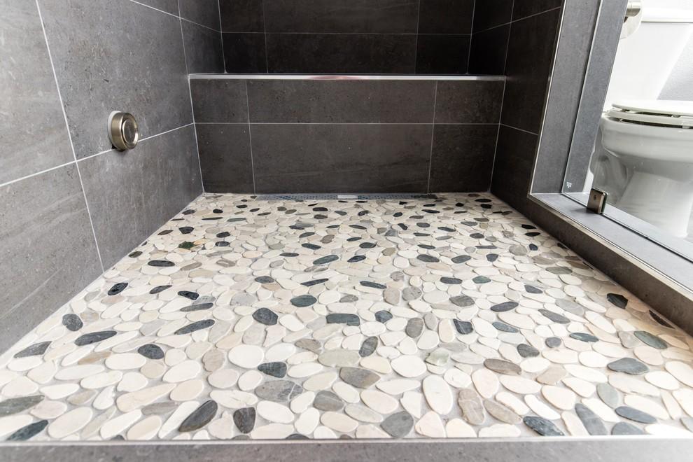 Botany Bay Sliced Pebble Shower Floor