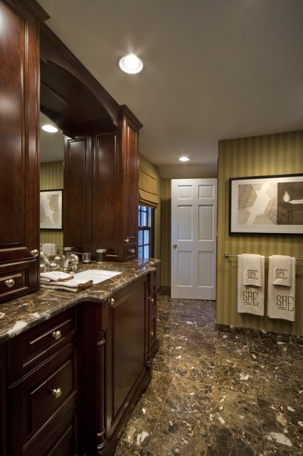 Master Spaces traditional-bathroom