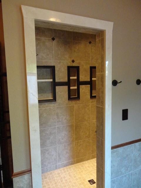 Master suite addition traditional bathroom oklahoma for Bathroom builders birmingham
