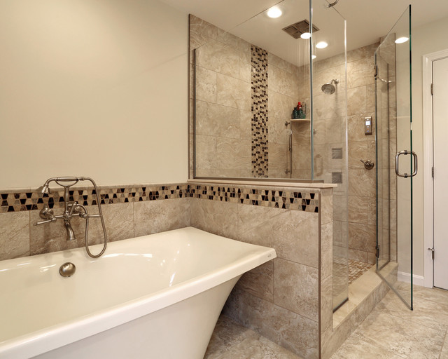 Master suite addition master bathroom transitional for Gmt home designs inc