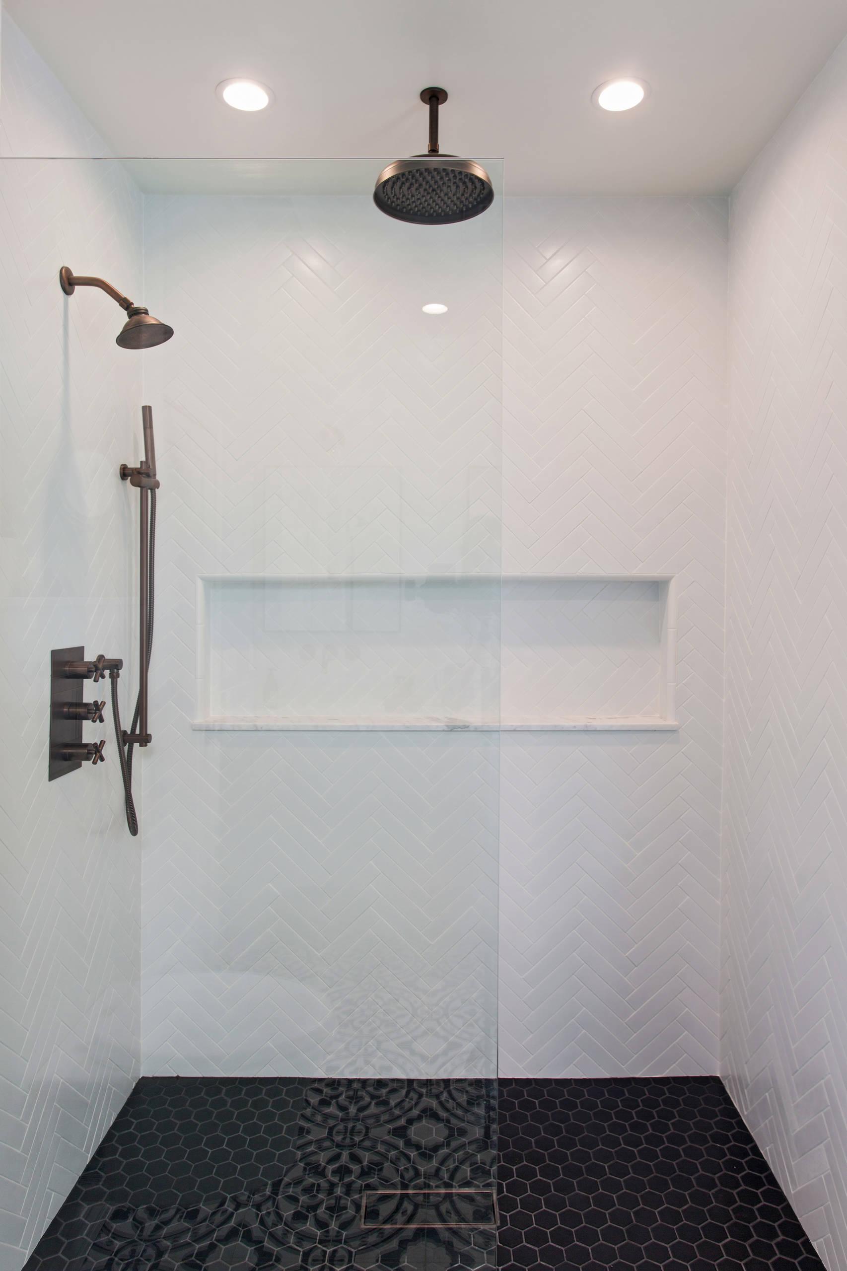 Piastrelle Arancioni Per Bagno bagno scandinavo - foto, idee, arredamento
