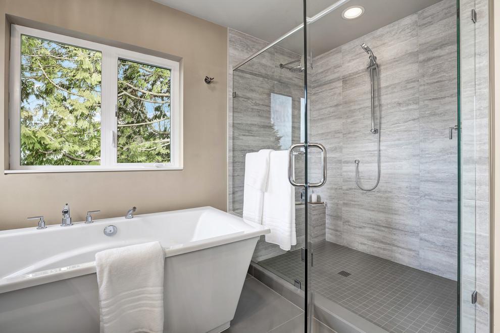 Master Suite Bathroom - Contemporary - Bathroom - Seattle ...