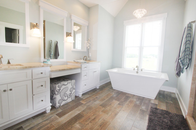 Master Suite Craftsman Bathroom Other Metro By