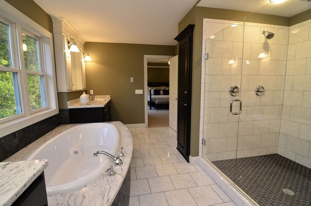 Master Suite traditional bathroom