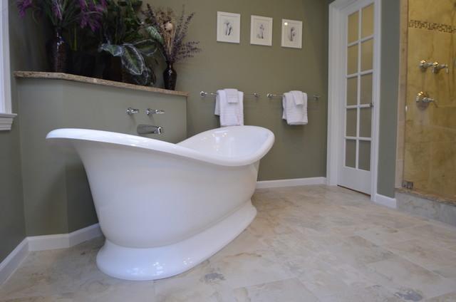 Master Suite - Grant Estate West Simsbury, CT traditional-bathroom