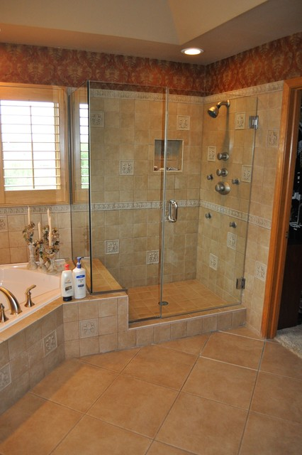 Master suite traditional bathroom chicago by for Bathroom remodeling stores chicago