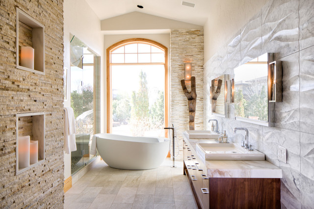 Master Suite Luxury Bathroom Modern Bathroom Denver
