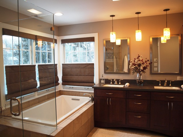 Master Suite Traditional Bathroom Chicago By Normandy Remodeling