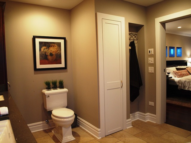 Master suite traditional bathroom chicago by normandy remodeling - Bathroom design chicago ...