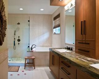 Master suite remodel contemporary bathroom miami for Bathroom remodeling miami