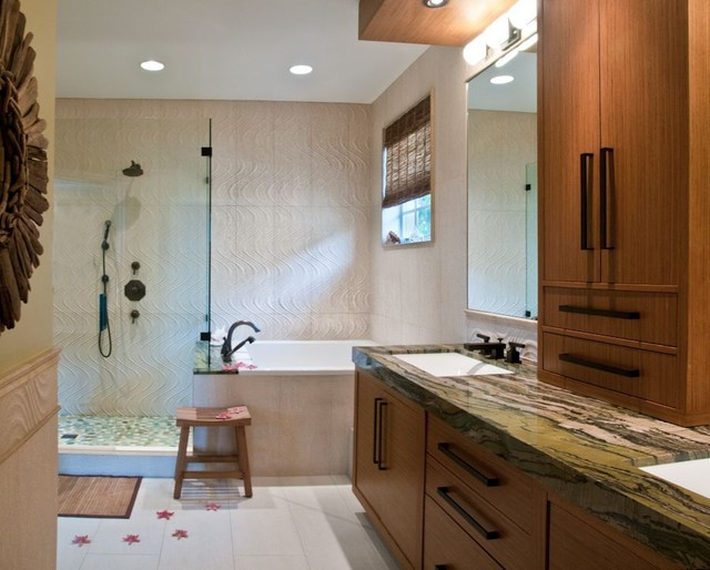 Master Suite Remodel Contemporary Bathroom Miami