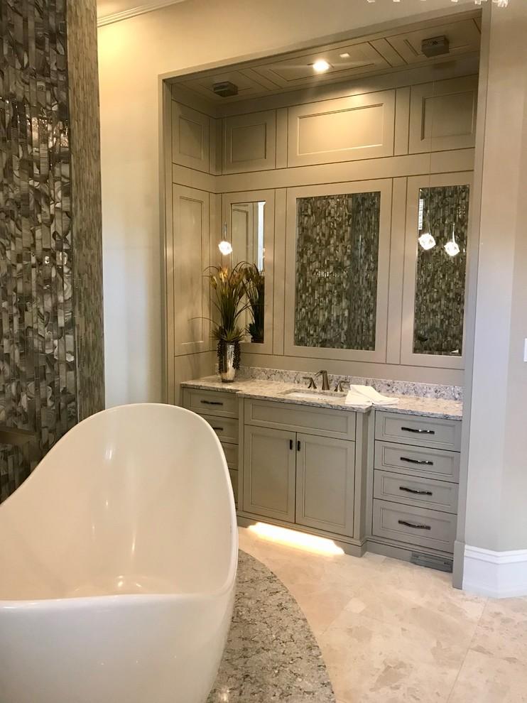 Master Suite Vanity - Contemporary - Bathroom - Miami - by ...