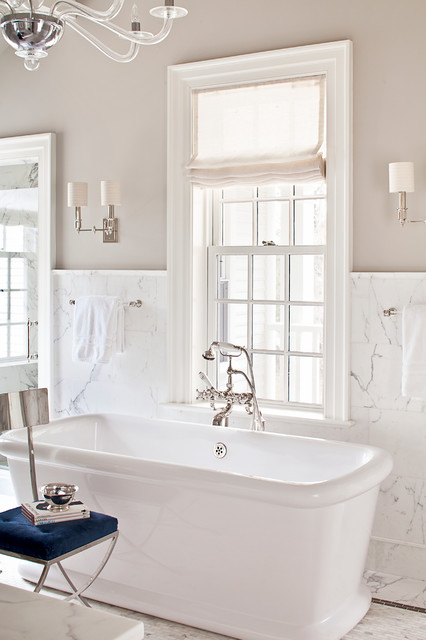 Master Tub traditional-bathroom