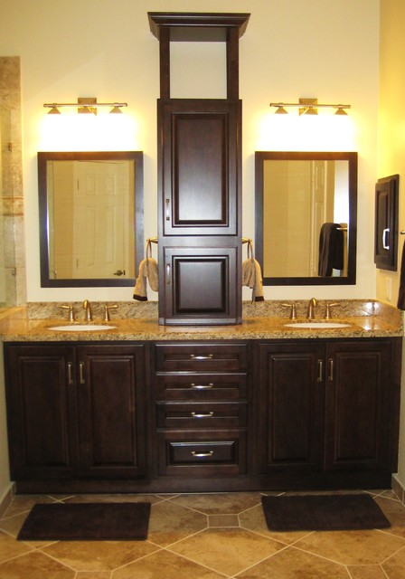 Master Vanity - Traditional - Bathroom - houston - by DESIGNER KITCHEN & BATH