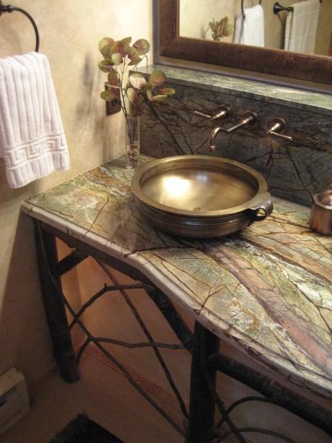 Master Vanity Eclectic Bathroom Denver By Shelley