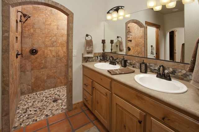 Masterful Baths Southwestern Bathroom Denver By