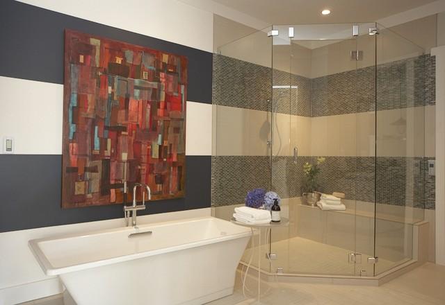 Masterful Master Bathroom contemporary-bathroom
