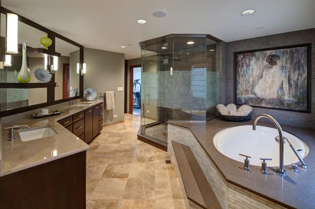 Masterful Spa Like Bathroom Suite Aurora Il