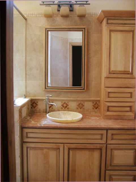 Mathews Master Bathroom contemporary-bathroom