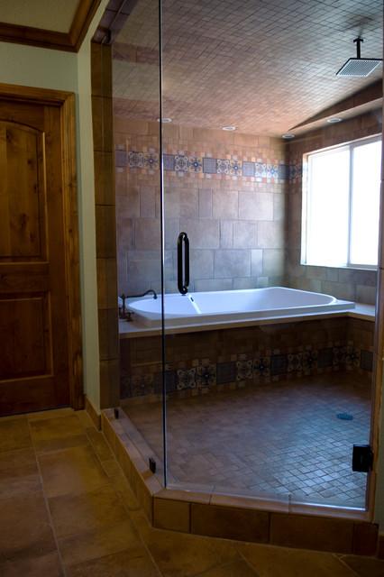 Mathis Master Bathroom mediterranean-bathroom