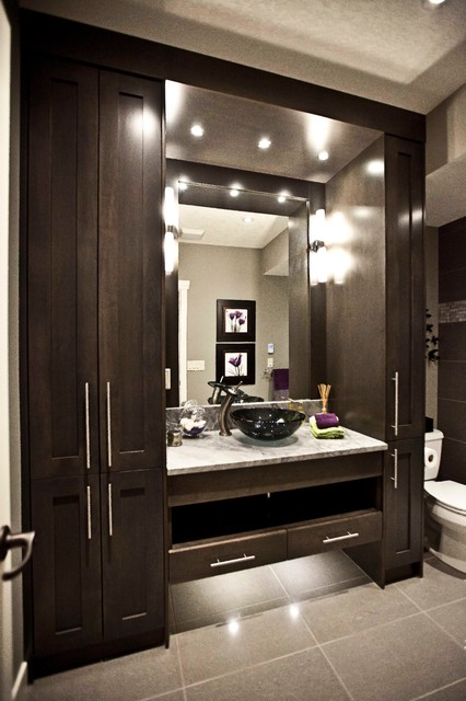 May Basement Renovation Transitional Bathroom Calgary By Urban Abode