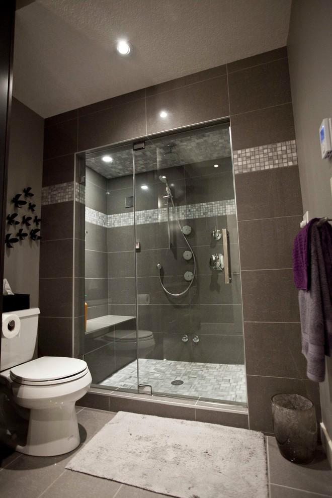 May Basement Renovation - Transitional - Bathroom ...