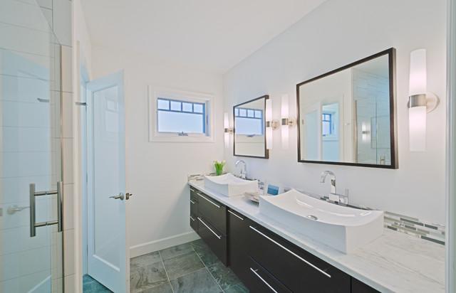 Maywood Ave. Home, Ann Arbor contemporary-bathroom