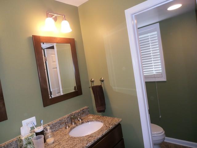 MBR Bath and Closet Renovation contemporary-bathroom