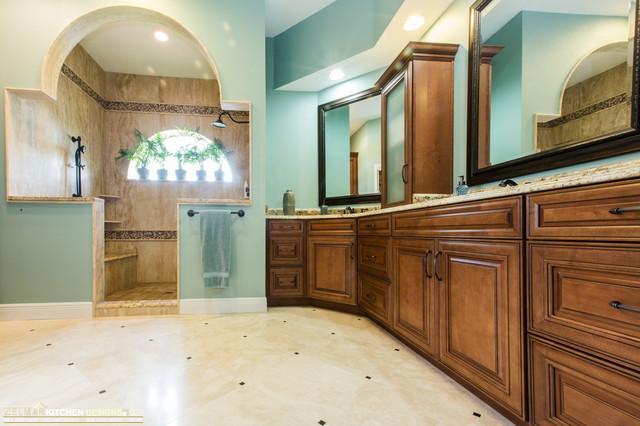 Mcdowell waypoint zelmar bath remodel traditional bathroom for Zelmar kitchen designs