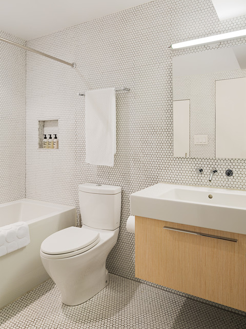 Mcelroy Renovation Midcentury Bathroom Philadelphia