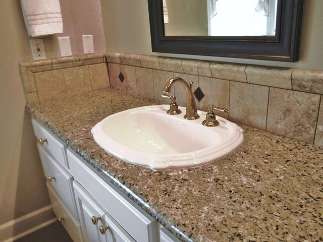 McLarrin Flooring & Counter Tops traditional bathroom