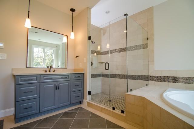 McLean Custom Home traditional-bathroom