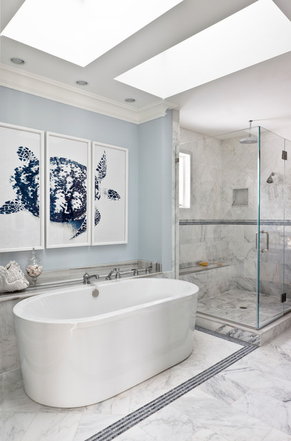 mclean house beach style bathroom dc metro by