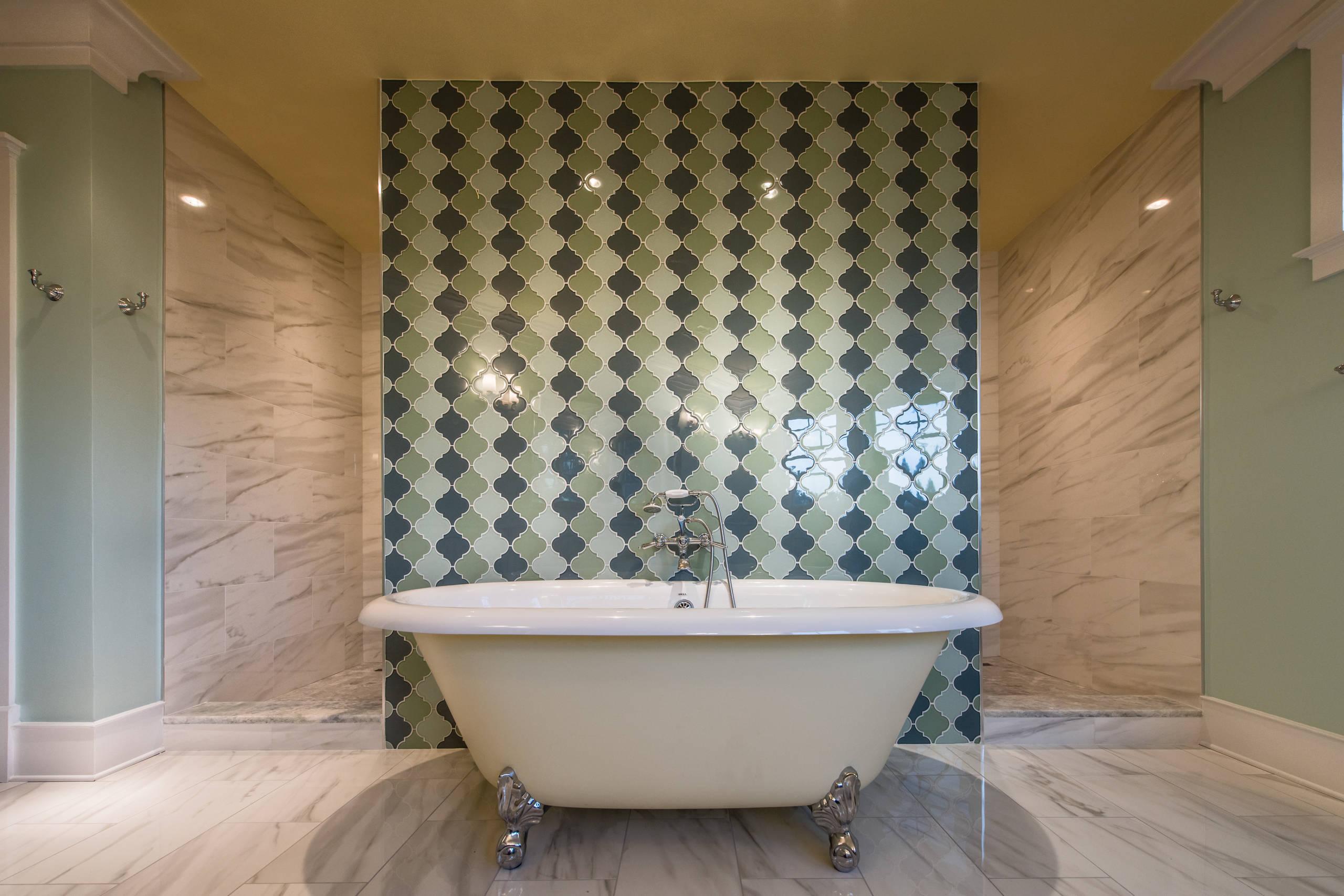 McLean, VA Transitional Master Bathroom