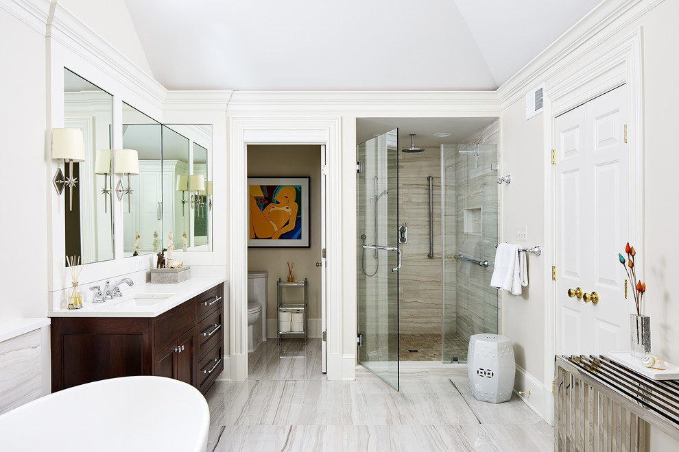 McLean, VA - Whole House Remodel - Traditional - Bathroom ...
