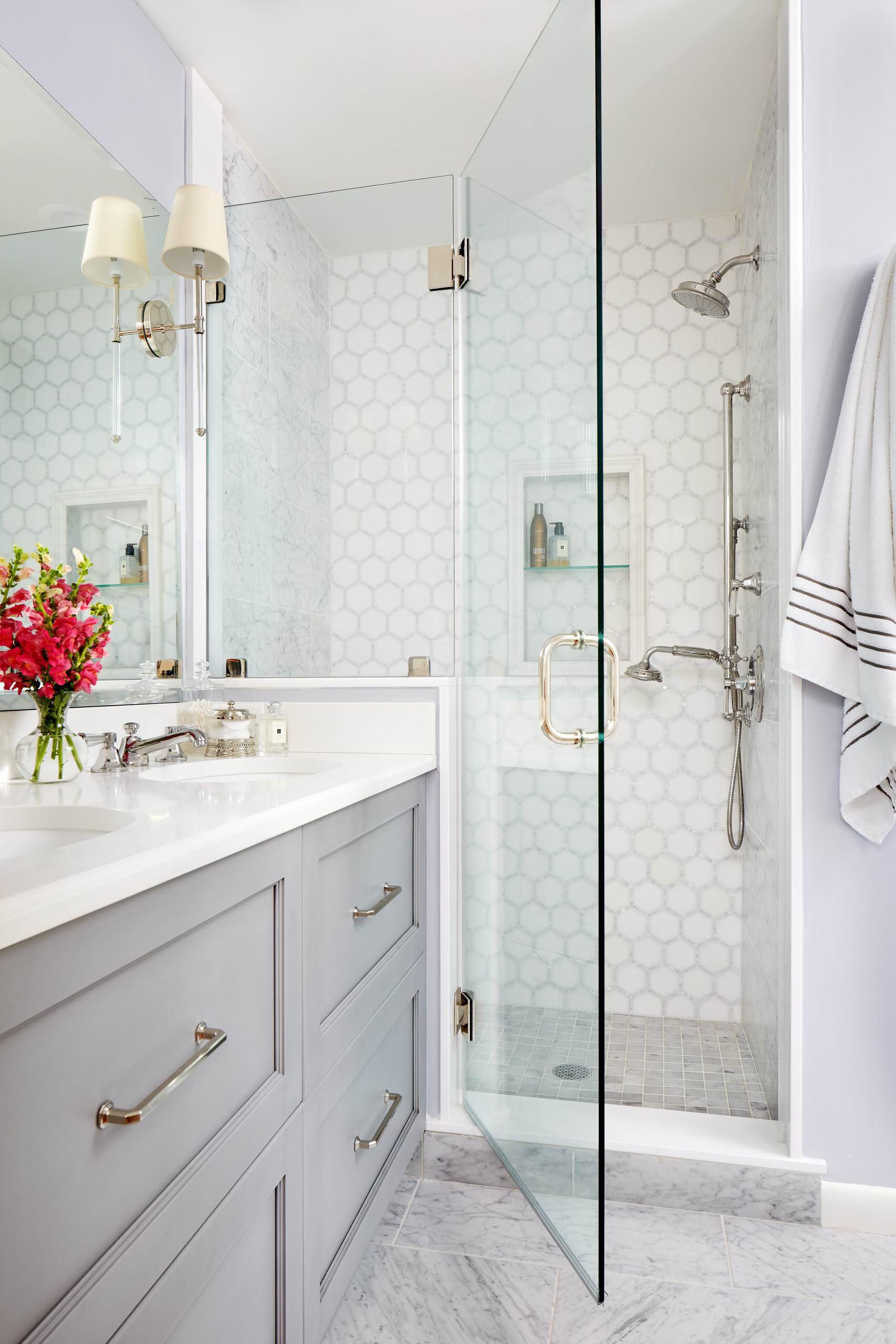 75 Beautiful Mosaic Tile Bathroom Pictures Ideas November 2020 Houzz