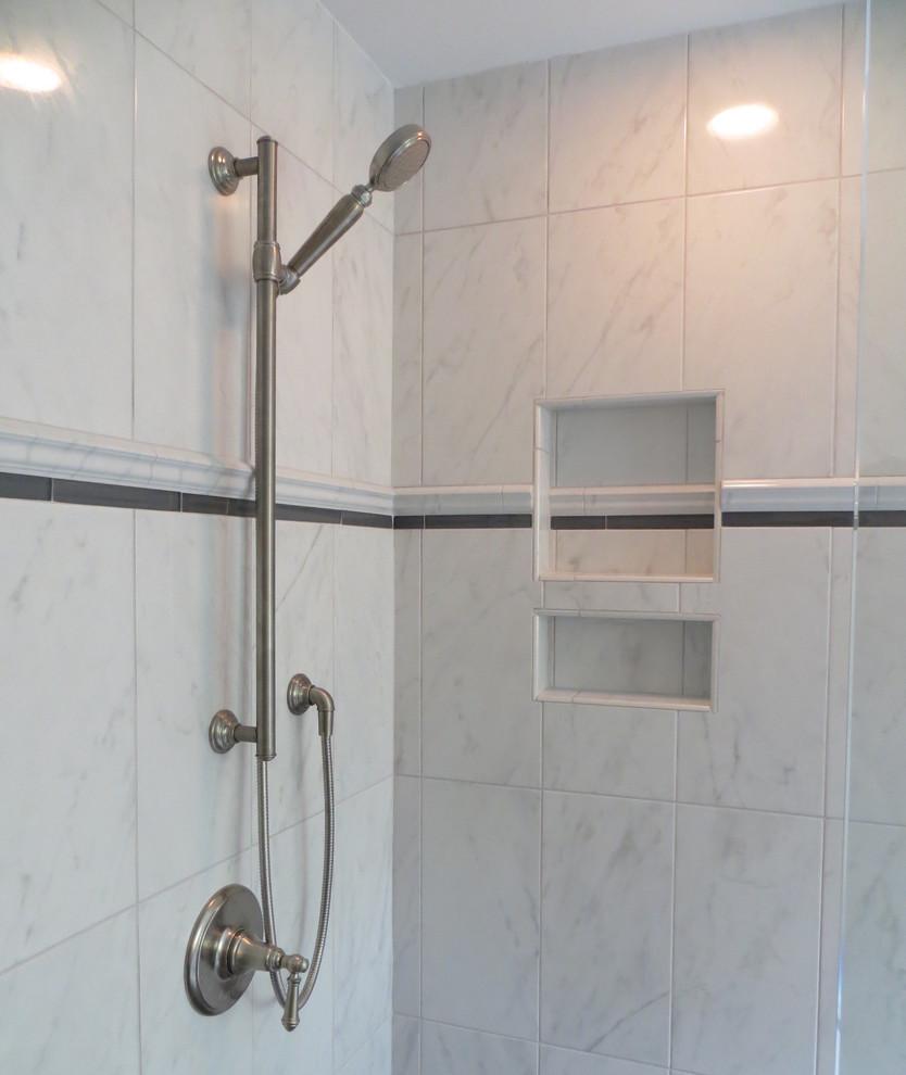 Mechanicsville Bath Re-model - Contemporary - Bathroom ...