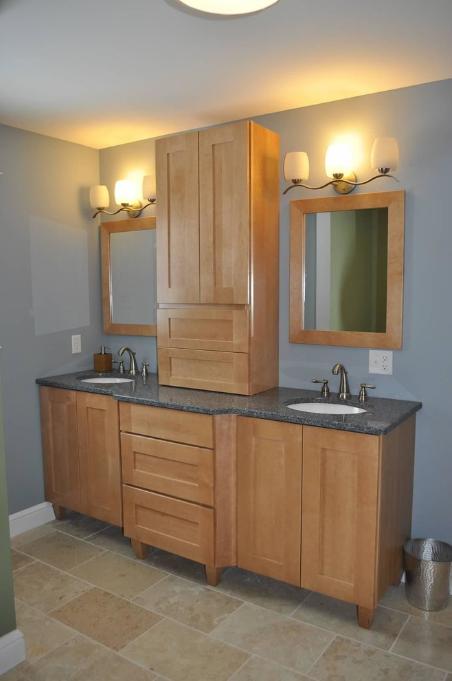 Medallion Cabinetry - Contemporary - Bathroom - St Louis ...