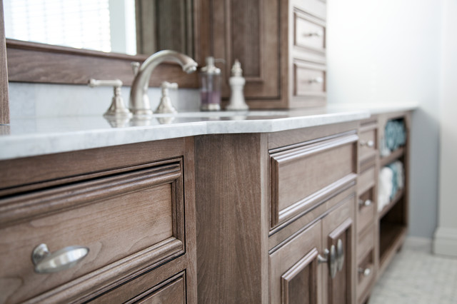 Medallion Cabinetry - Oakdale - Transitional - Bathroom - New York ...