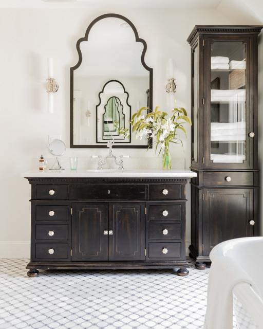 Medfield ma bathroom boston by colortheory boston for Bathroom vanities massachusetts
