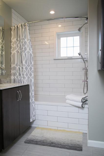 Media PA Hallway Bathroom Remodel Transitional Bathroom Philadelphia