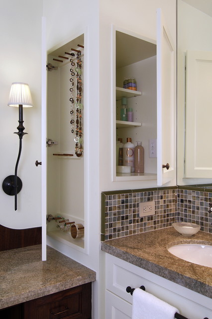 Medicine Cabinet and Jewelry Storage - Traditional - Bathroom - Houston - by Carla Aston ...